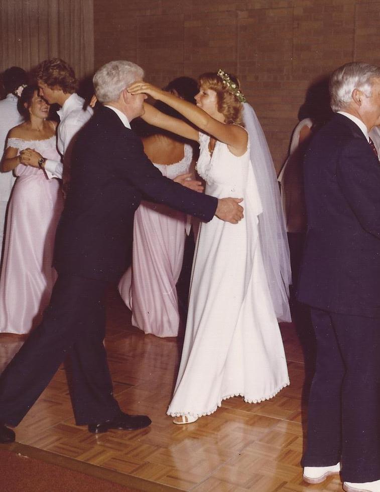 dad & jackie dancing