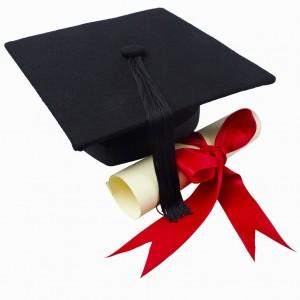 author Jackie Madden Haugh graduates in life
